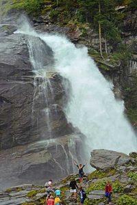 Erfrischung am Wasserfall | Foto: Susanne Radke