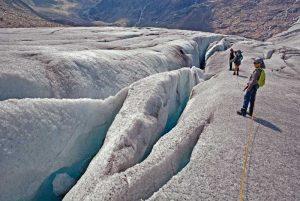 Sicher am Gletscher wandern | Foto: Susanne Radke