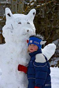 Schneekatze | Foto: Susanne Radke